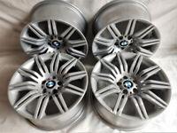 R19 Genuine OEM BMW E60 Msport Alloys - Styling 172 - Spyders