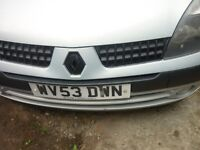 clio automatic, 2003, new mot , drives all good