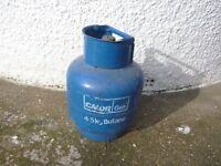 Calor Gas Bottle 4.5 kg (1/2 Full)