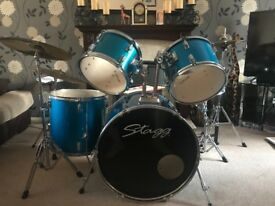STAGG DRUM KIT - GREAT CONDITION