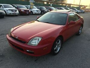 2001 Honda Prelude SE, A/C, ALL POWER OPTIONS, LEATHER AND SUN R