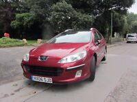 PEUGEOT 407 /SW 2.0 HDi SE 5DR / PANORAMIC ROOF .... A GREAT RUNNER !