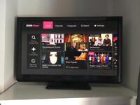 """Panasonic 42"""" inch plasma tv iPlayer"""