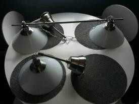 Ikea Kroby pendant light - nickel finish.