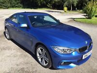 BMW 435d M Sport xDrive, Full BMW service history, New front tyres, 5 month BMW warranty