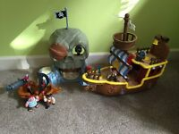 Jake and the neverland pirates toy set bundle