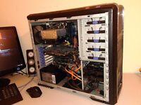 """CUSTOM GAMING BUNDLE - OCTA CORE - 22"""" FULL HD MONITOR - AMD FX - GEFORCE GTX - 16GB RAM - 600 W PSU"""