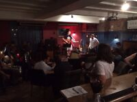 Open Mic - Hammersmith - Piano & Guitar