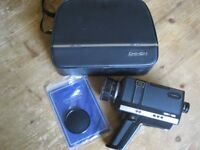 Old Chinon Movie Camera and Other Old Photographic Accessories