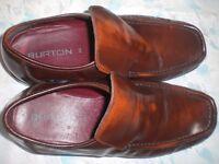 Goldish brown Burton Mens shoes