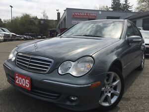 2005 Mercedes-Benz C-Class Sport 1.8L Kompressor | Leather | All