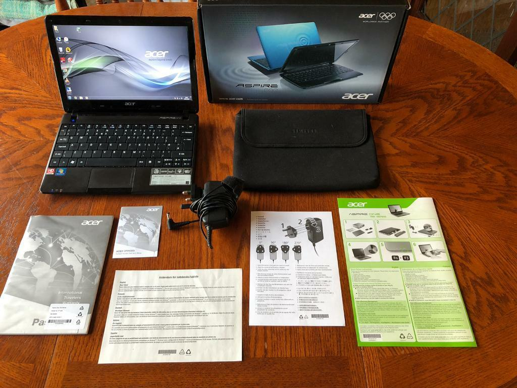 Acer Aspire One 722 Netbook Laptop Computer 4GB Memory Work University College