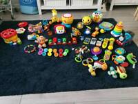 Joblot baby toys