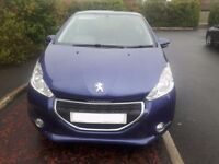 2012 Peugeot 208 Active 1.2 Petrol £20 Tax Per Year Offers Considered