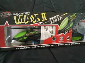 Max 2 r/c helicopter