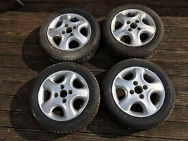 "13"" Irmscher Softstars with tyres"