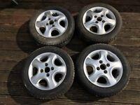 "13"" Irmscher Softstars with tyres"