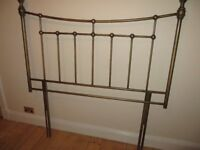 Sold awaiting collection! Double Headboard - Antique Finish