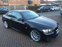 BMW 320d Coupe M Sport Highline E92, Cat D 88K Excellent Condition