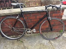 Black single speed bike 60cm