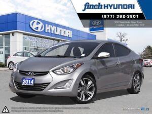 2014 Hyundai Elantra Limited Leather | Back up Camera | Sunro...