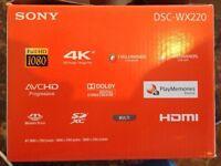 Sony Cyber-shot DSC-WX220 Black Superzoom // 4K // RRP £160