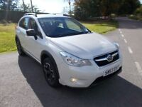 2013 13 SUBARU 2.0 D S AWD 5 DOOR SUV 4X4 IN LOVELY PEARLSCENT WHITE CALL 07791629657