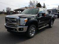 2011 Ford F-350 Lariat leather