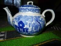 Antique George Jones & sons Abbey 1790 teapot