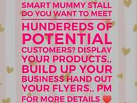 Smart Mummy Stall at Jack and Jill Market Livingston 17th June