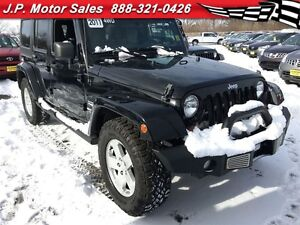 2011 Jeep WRANGLER UNLIMITED Sahara, Automatic, Hard+Soft Top, 4