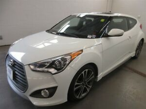 2016 Hyundai Veloster Turbo! BACK-UP CAM! NAV! LEATHER INTERIOR!