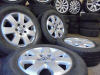 16inch genuine vw t5 Alloys Wheels with load rated van tyres Vauxhall Vivaro traffic 5x120