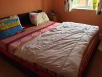 Superking Bed and Memory foam Mattress