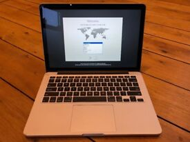 Great condition Macbook Pro 13 inch 2013 2.6ghz i5, 8GB RAM, 250GB SSD