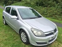 ASTRA 1.7 CDTI CLUB DIESEL 5 DOOR NEW SHAPE 54 REG IN SILVER WITH SERVICE HISTORY AND MOT DECEMBER