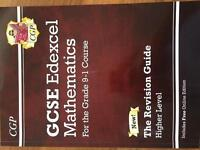 Maths GCSE 9-1 course revision guide and workbook.