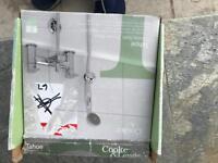 Cooke Lewis chrome bath shower mixer tap