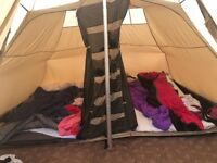 Robens Kiowa Tipi Tent. Price Inc sleeping pods and carpet. Sleeps 10 people. In great condition