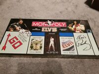 Elvis Presley 25th Anniversary Monopoly still sealed