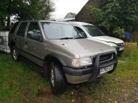 4 X 4 Vauxall Frontera, Years MOT