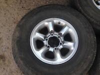 Wheels alloys set of 4
