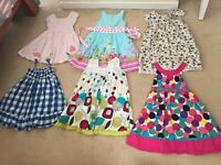 Girls dresses in excellent condition. All good brands. M&S, Bluezoo, Monsoon, MiniBoden etc.
