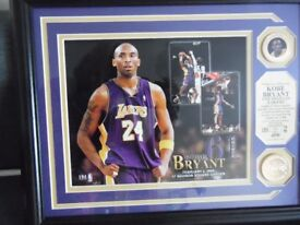 Kobe Bryant Collectable Limited Edition Print / Madison Square Garden Feb 2009