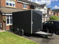 Twin Axle Box Trailer - Knott GmbH / NEW PRICE