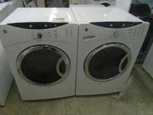 1001075 ENSEMBLE DE LAVEUSE SECHEUSE GENERAL ELECTRIC SET WASHER AND DRYER