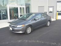 2012 Honda Civic LX $100/BiWeekly Tax in $0 DOWN!