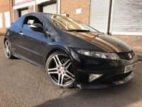 Honda Civic 2008 2.0 i-VTEC Type R GT 3 door RAGE ALLOYS, F/S/H, 2 KEYS, LOW ...