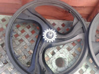 2 sets of bmx mag wheels (penarth)