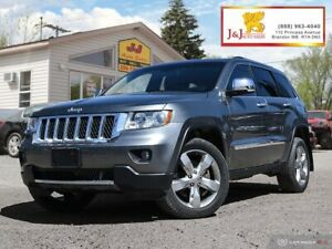 2013 Jeep Grand Cherokee Overland Fully Loaded , Powered by 5...